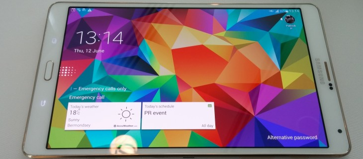 Hands-on with Samsung's 8.4-inch and 10.5-inch Galaxy Tab S: Thinner and lighter than Apple's ...