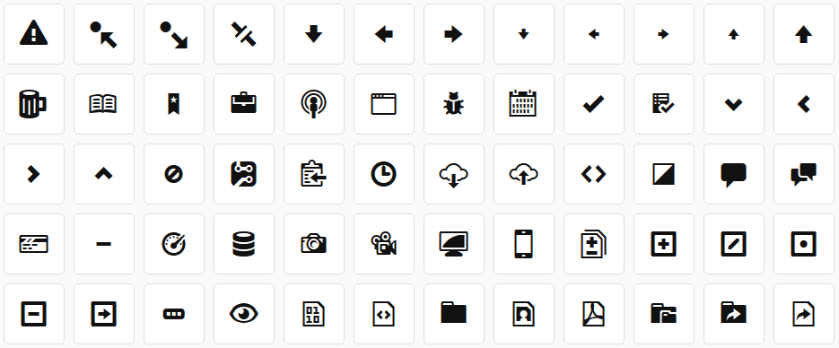 GitHub Opens Octicons Icon Font to All