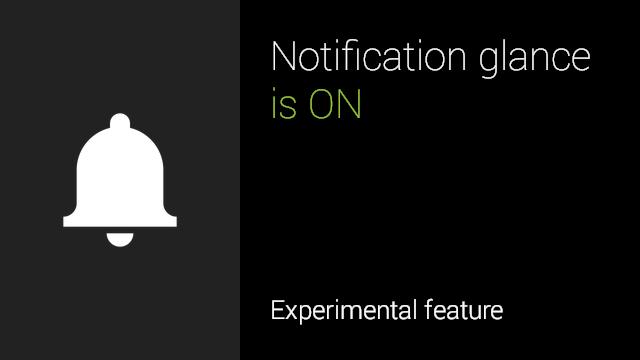 Notification Glance