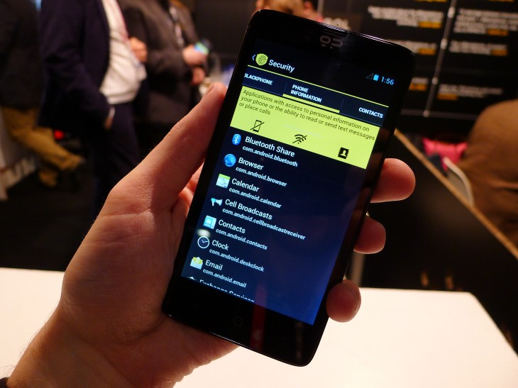 Privacy-focused Blackphone Smartphone Begins Shipping