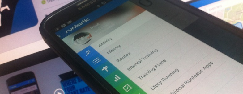Runtastic now invites you to beat your previous times, and shows your runs on Street View too