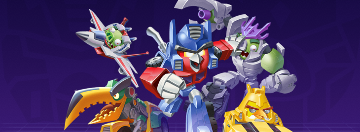 Angry Birds Transformers. Yes, really. Rovio and Hasbro partner for mash-up game and toys