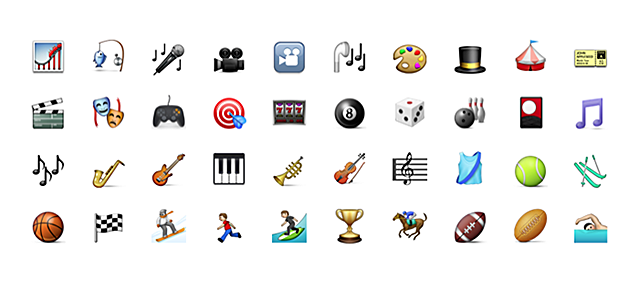 Album cover art as emoji — will it be the new craze?