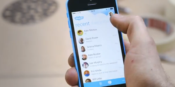 With Skype 5.2 for iPhone, you can now listen to voice messages again