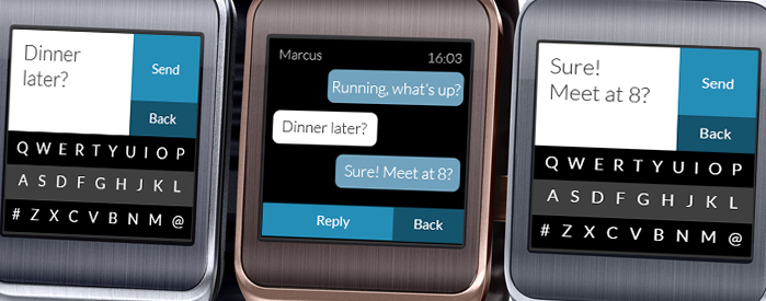 Fleksy finally launches its keyboard app for the Tizen-powered Samsung Gear 2