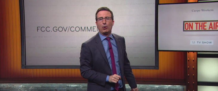 John Oliver's hilarious plea for trolls to defend net neutrality overloads the FCC's comment ...