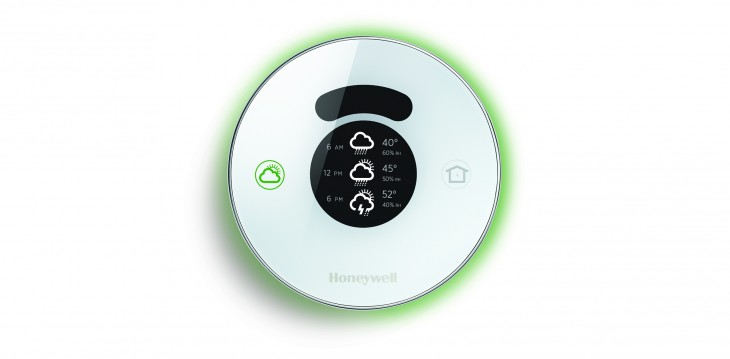 Honeywell heats up its connected home efforts with Lyric, an intelligent round thermostat