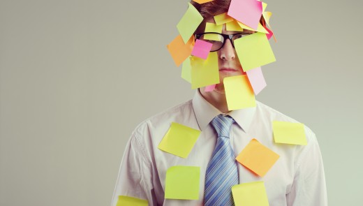 post it stress to do list