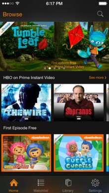 03d556be845d Amazon Instant Video Now Supports Free First Episodes on iOS
