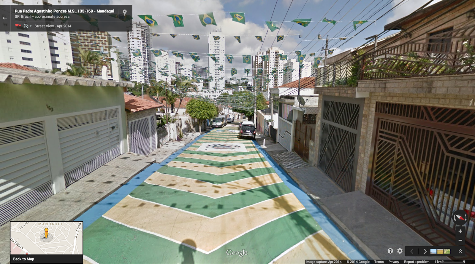 Google adds world cup stadiums to street view you can now explore all 12 fifa world cup stadiums in brazil via google street view gumiabroncs Gallery