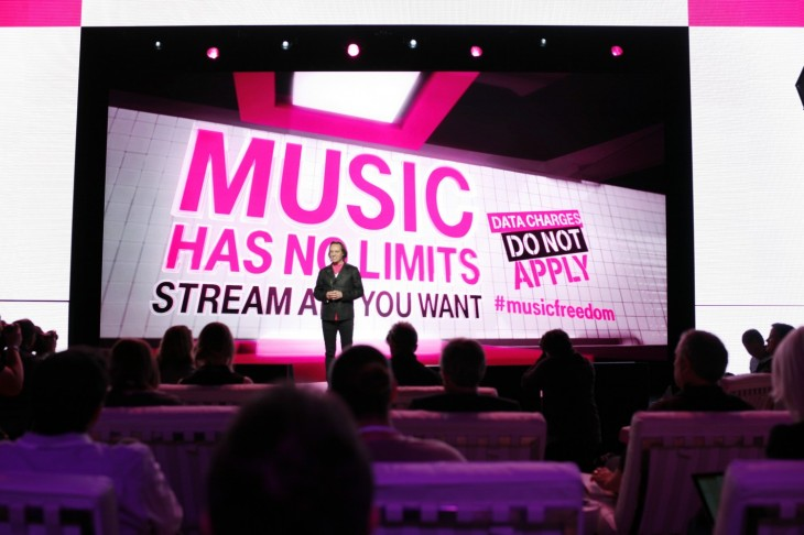 T-Mobile announces free unlimited music streaming for all its customers
