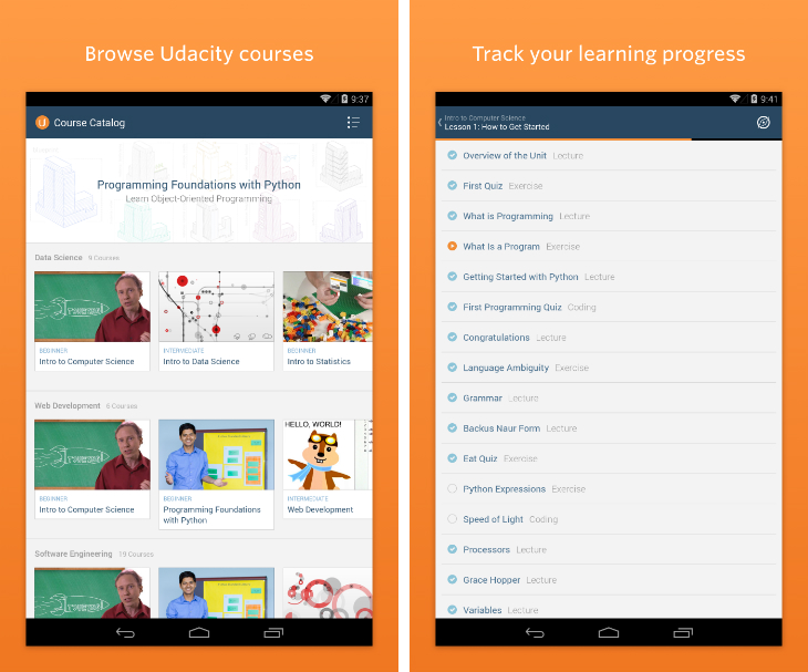 Udacity Launches Android App and Google-Supported Courses