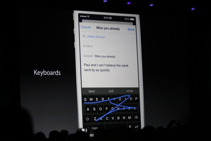 SwiftKey, Fleksy and Swype keyboards are all coming to iOS 8