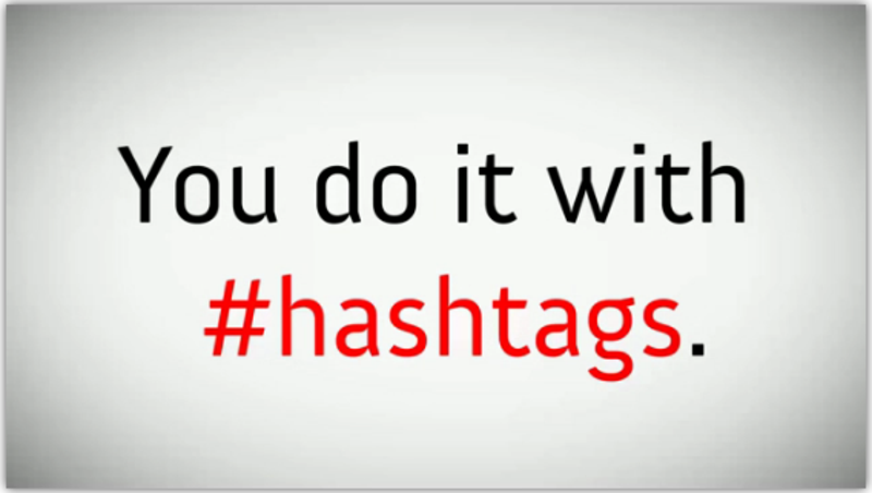 The hashtag is ten years old