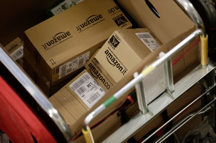 Amazon Prime offers two-day delivery for orders shipped to the UK from inside Europe
