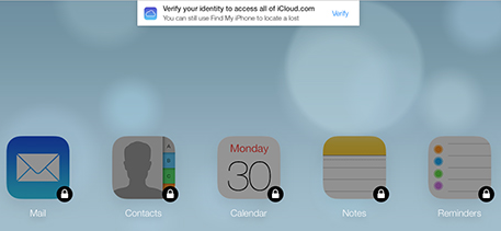 Apple is testing two-step verification for iCloud.com