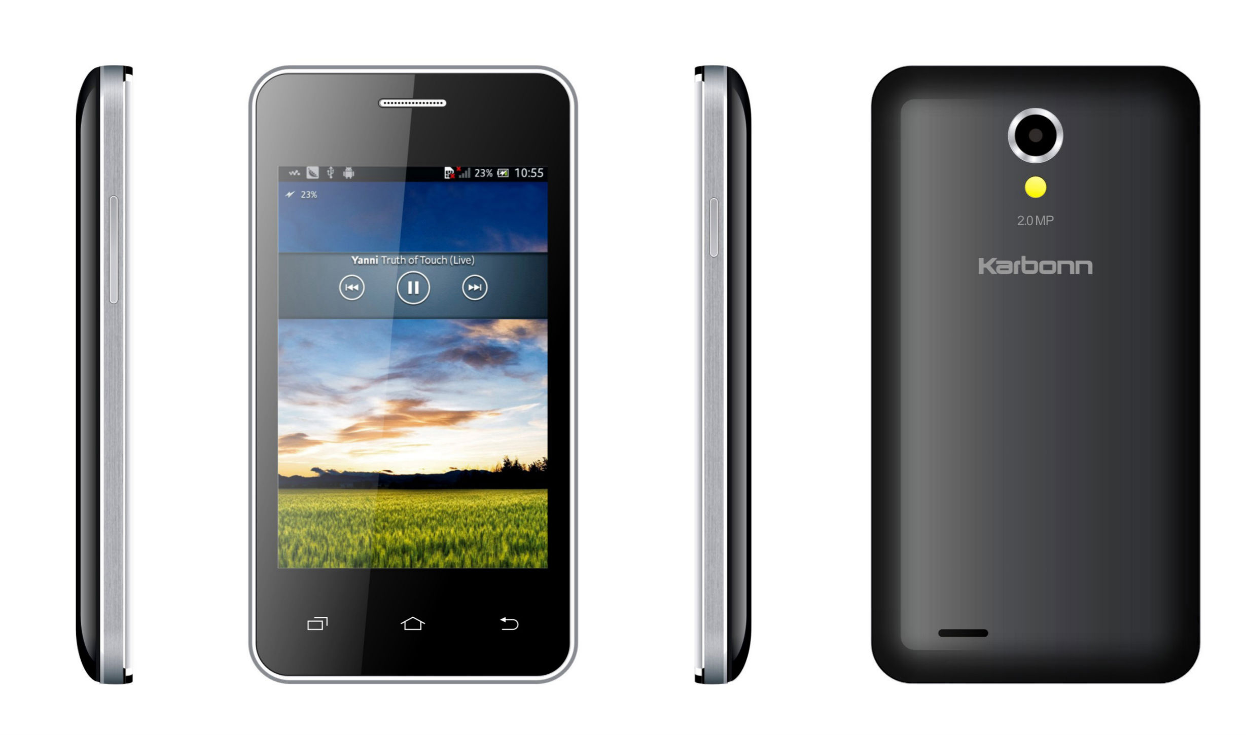 Phone Karbonn All Android Phone flipkart teams up with karbonn to launch smartphones a50s phone picture1