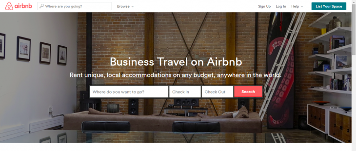 Airbnbforbiz 730x310 Airbnb makes it easy for businesses to book accommodation with new portal and Concur integration