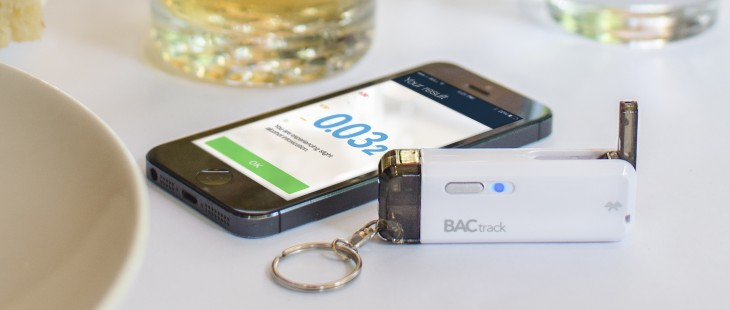 BACtrack releases a $50 smartphone breathalyzer that fits on your keychain