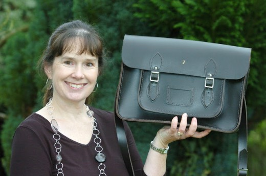 Julie Deane of the Cambridge Satchel Company