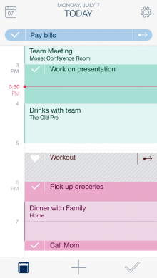 Calendar with Suggestion 1