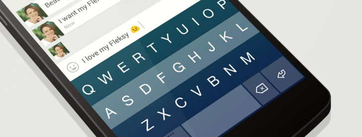 Fleksy 5.0 introduces Extensions, a customizable input feature, and 30 new themes