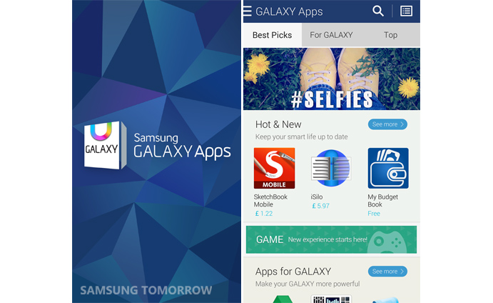 Samsung Revamps its Galaxy Apps Store