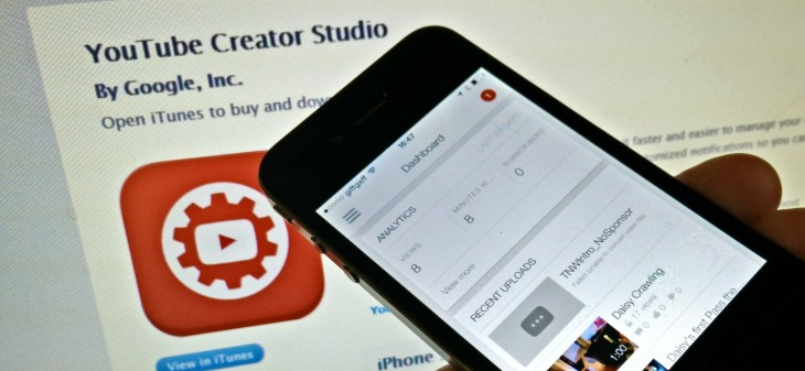 Google's YouTube Creator Studio app is now available for iPhone users too