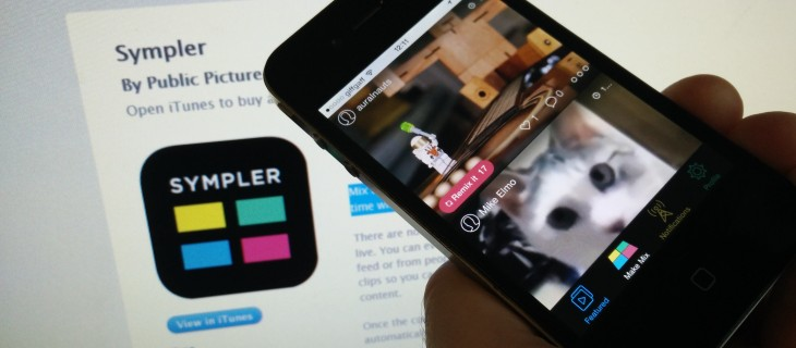 With Sympler for iPhone, creating music-video mashups couldn't be simpler