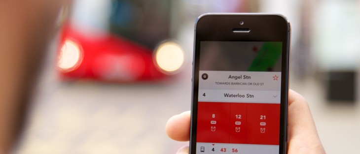 Jump for iPhone is a slick, real-time bus-tracker for London-dwellers
