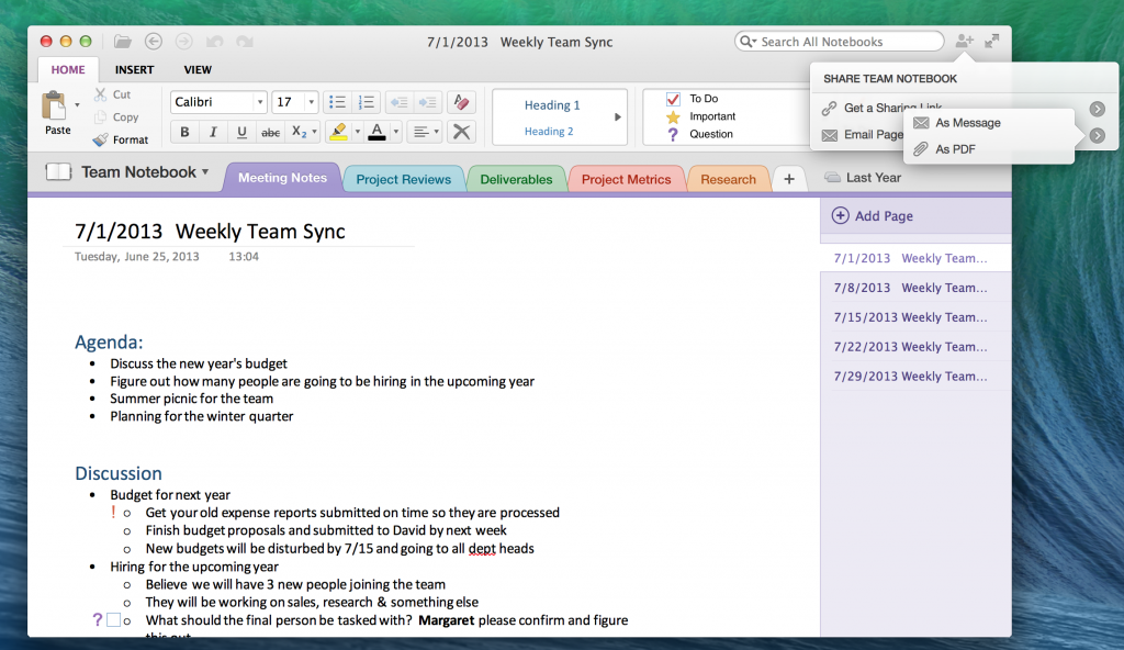 onenote for mac ios now let you insert office documents. Black Bedroom Furniture Sets. Home Design Ideas