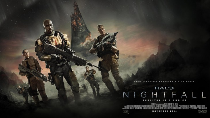 Watch the first trailer for Halo: Nightfall, the live-action digital series by Ridley Scott