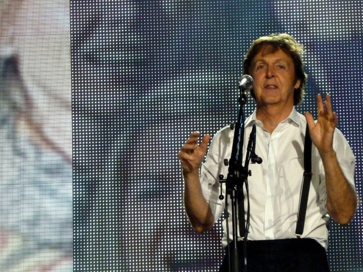 Paul McCartney relaunches five of his classic albums as iPad apps