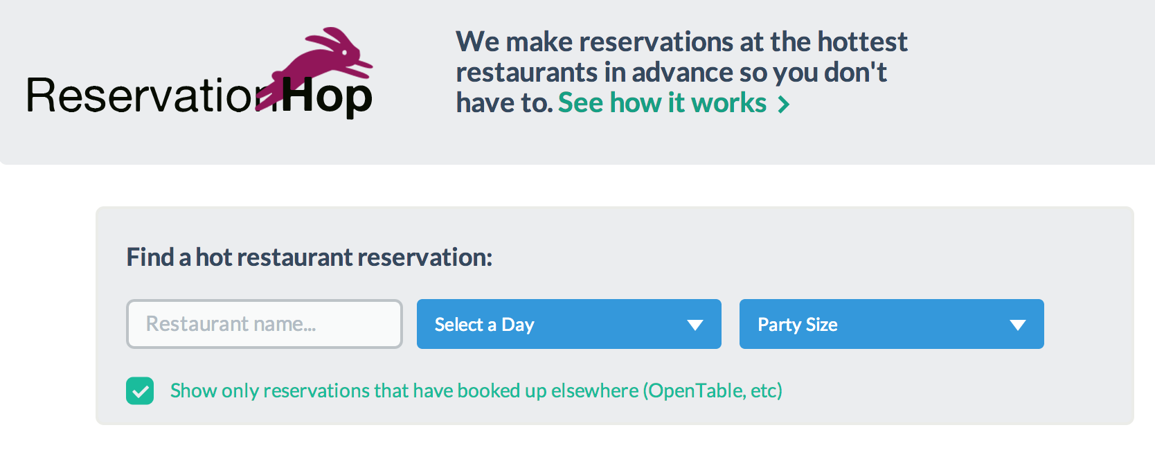 This Restaurant Reservation Startup Is Sleazy