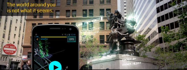 Google's Ingress augmented reality game quietly launches for iOS devices