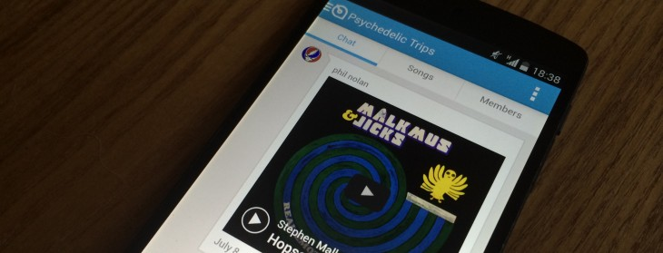 Soundwave evolves into a group messaging app for music lovers