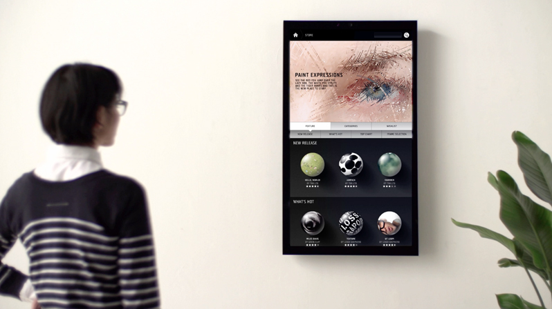 accompanied by a framed ios app which allows you to find new pictures online and send them to your frame in the flick of a finger each unit also has - Electronic Frames