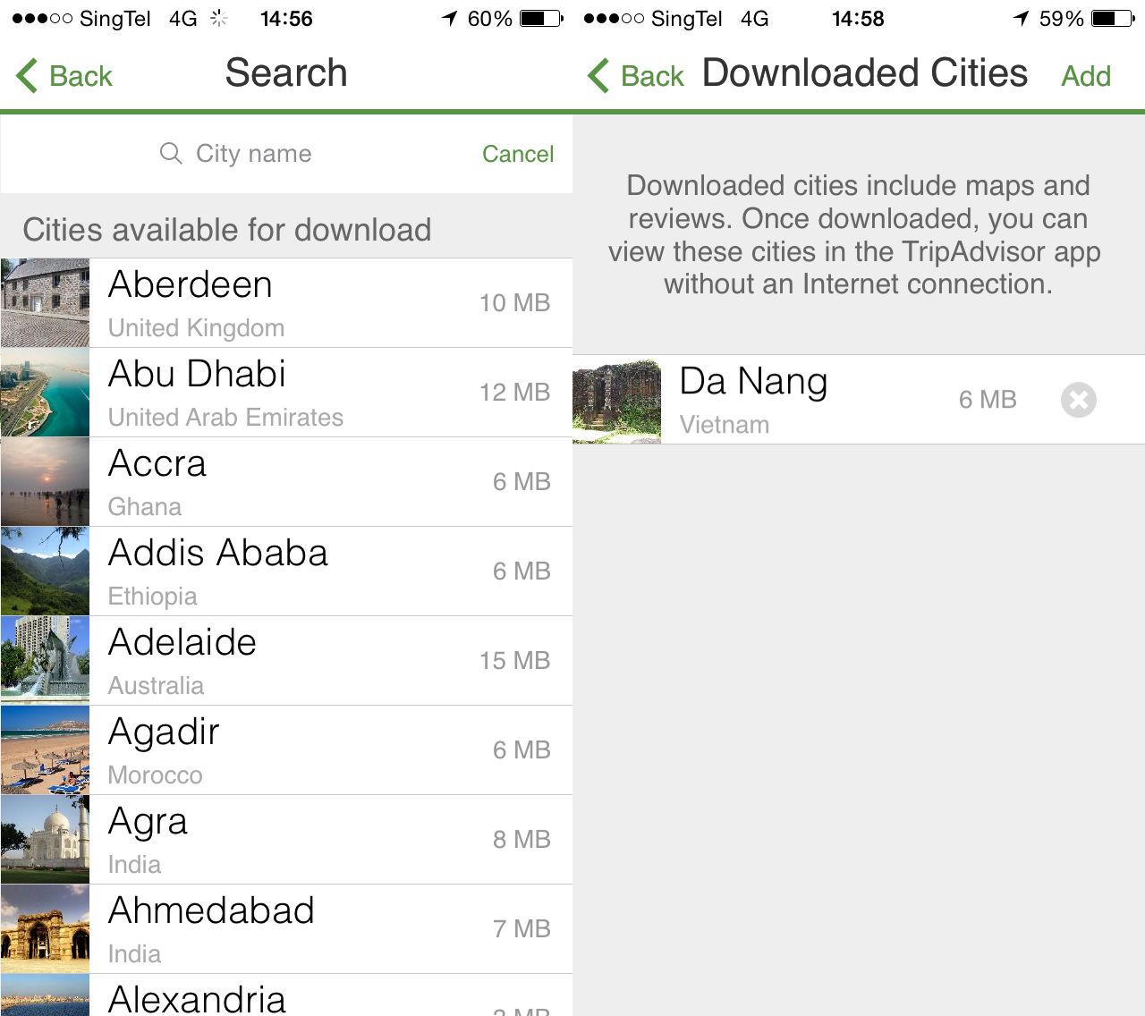 TripAdvisor's App Gets An Offline Feature