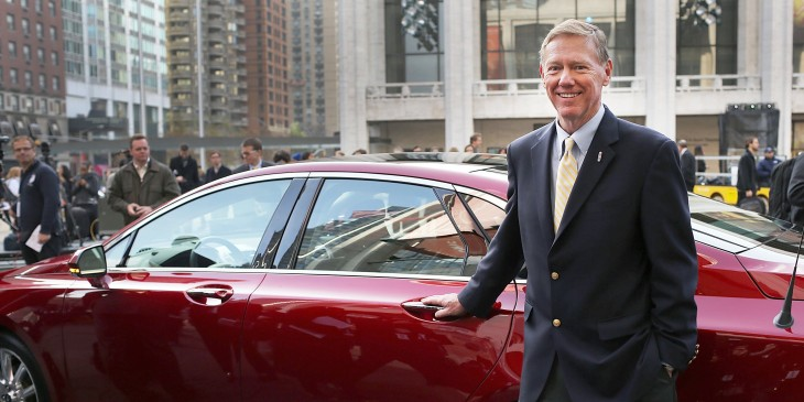 Ford CEO Previews New Lincoln Sedan At New York City's  Lincoln Center Plaza