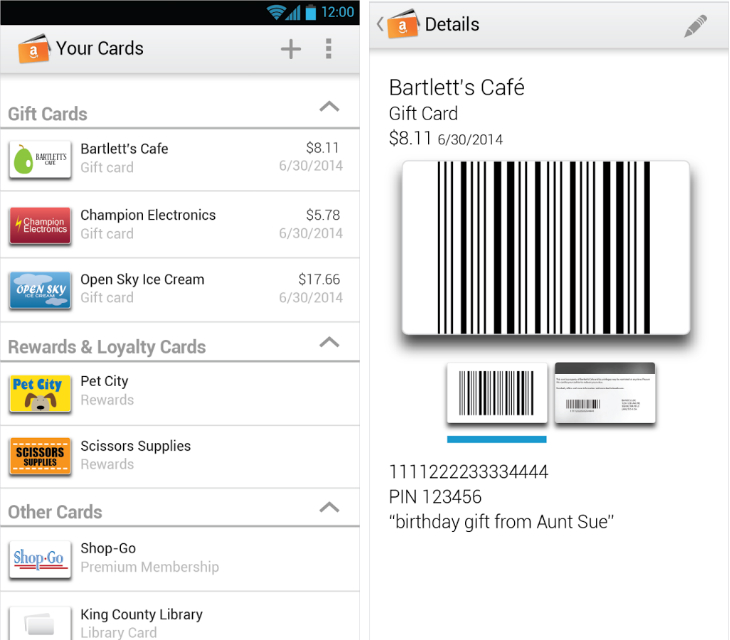 Amazon Wallet App Arrives in Beta for Android and Fire Phone