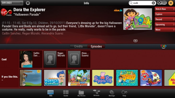 Live in the UK? Virgin TV Anywhere is now on Kindle Fire