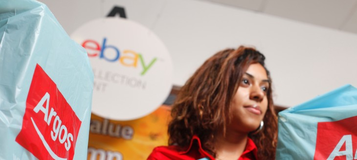 eBay wants to help you never miss a parcel as it expands its UK click-and-collect deal with Argos