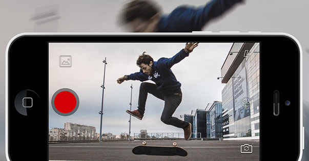 Steady app for iPhone calms shakyvideo while you shoot