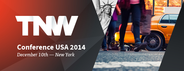 Announcing: TNW Conference will be back in New York on December 10