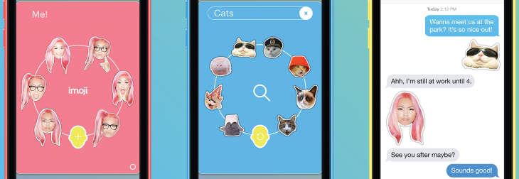 Imoji for iPhone turns your selfies into awesome iMessage stickers