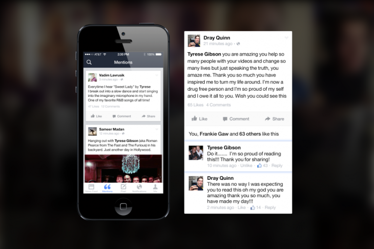 William Shatner reviews Facebook's new Mentions celebrity app and finds it 'ill-conceived'