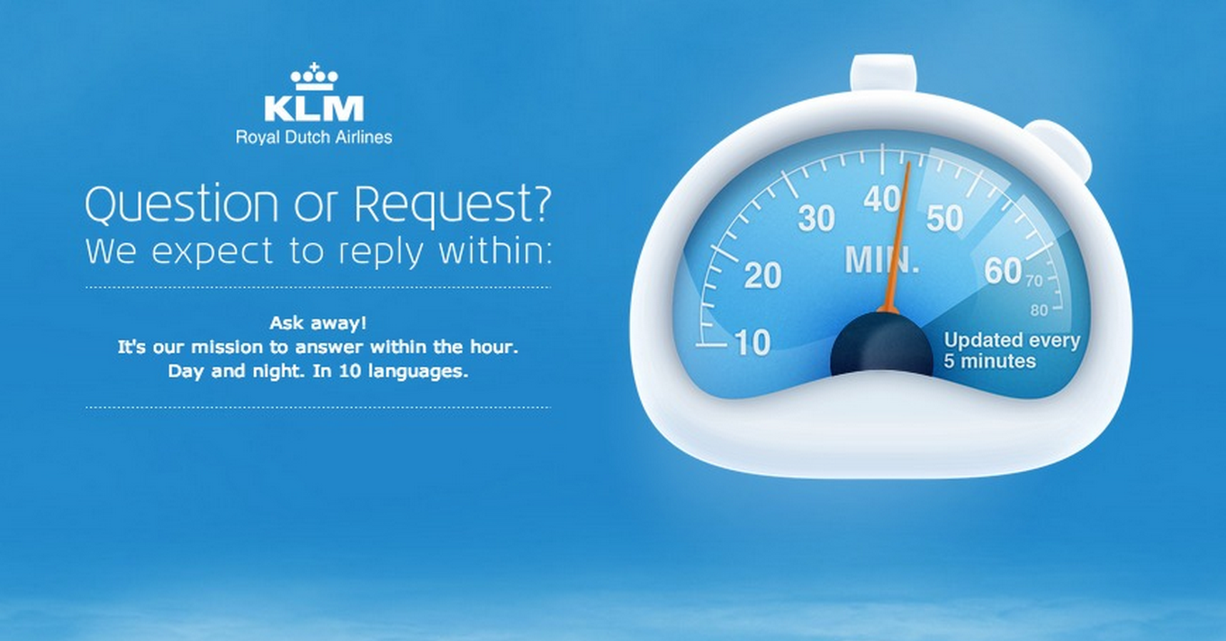 strategies behind awesome social media customer service klm fb