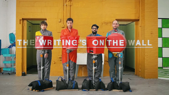 The making of a viral video: OK Go takes us behind the 'wall'