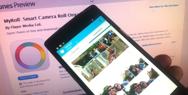 Flayvr pivots to MyRoll, an intelligent mobile gallery app that displays all your best photos