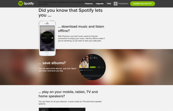 spotify quitting